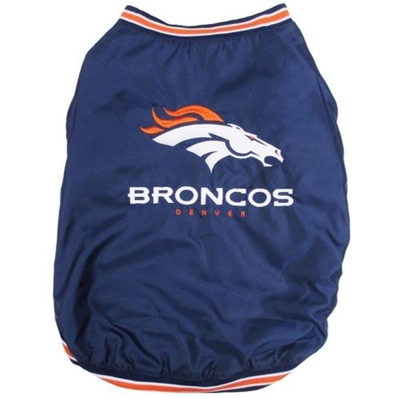 Denver Broncos NFL Dog Pet Sideline Jacket